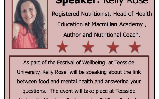 Mental health link to food Teesside University