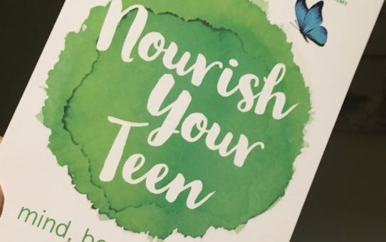 Nourish your teen, mind, body and soul book release!